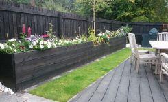 MDK Garden Services Black Deck Planters