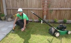 MDK Garden Services Cutting lawn
