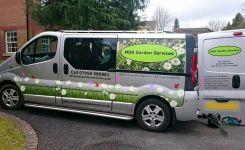 MDK Garden Services Van